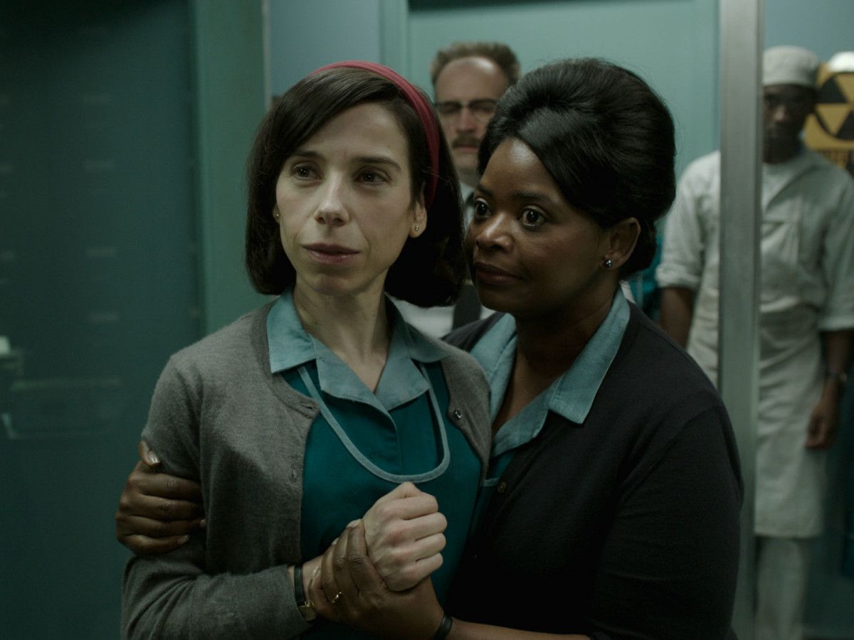 Sally Hawkins and Octavia Spencer in The Shape of Water