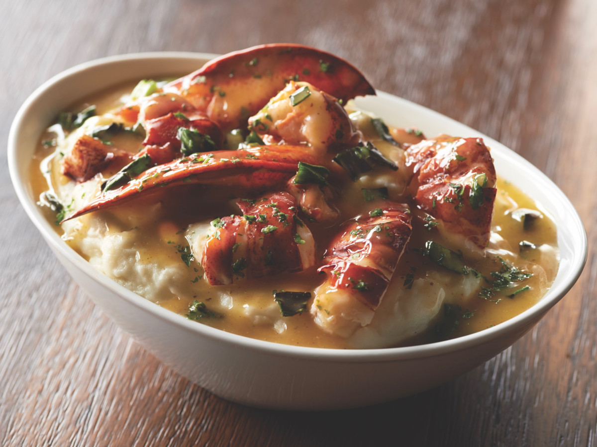 Mastro's lobster mashed potatoes