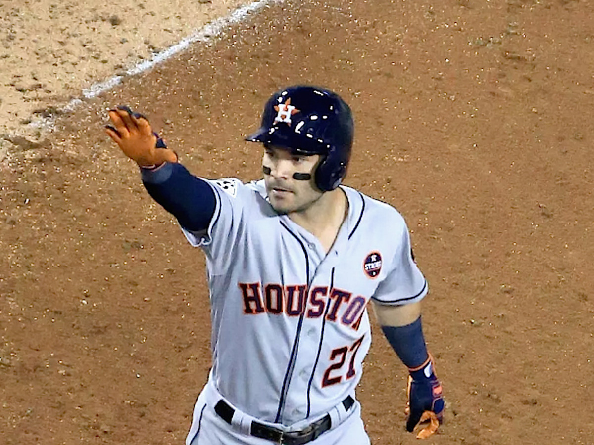 Houston, Jose Altuve, December 2017
