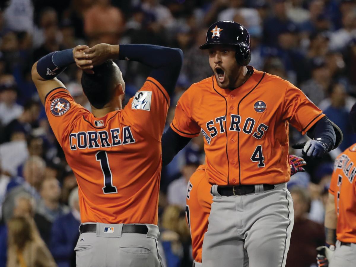 Astros win World Series Correa