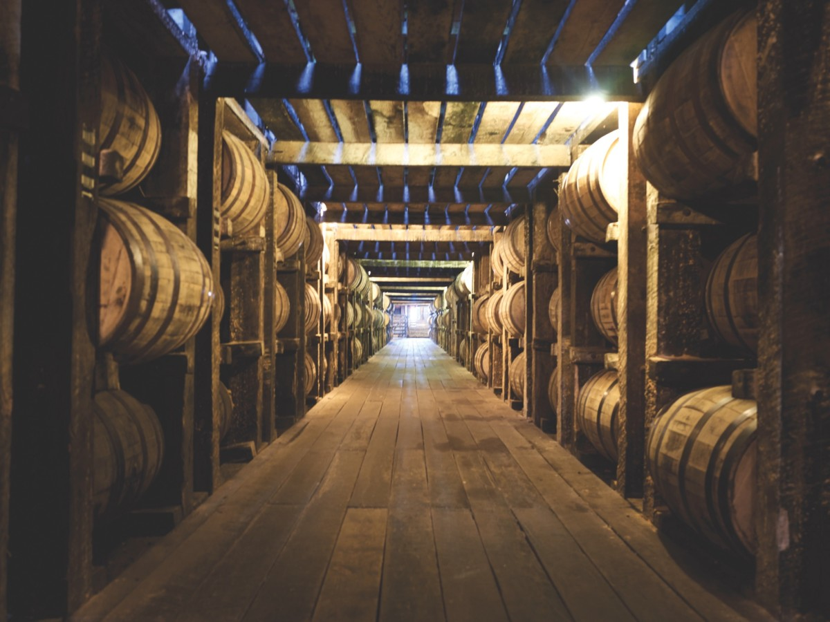 Goodnight Charlie's whiskey barrels