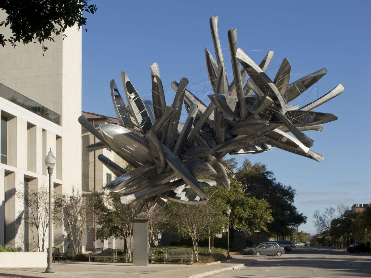 UT Landmarks Monochrome for Austin Nancy Rubins