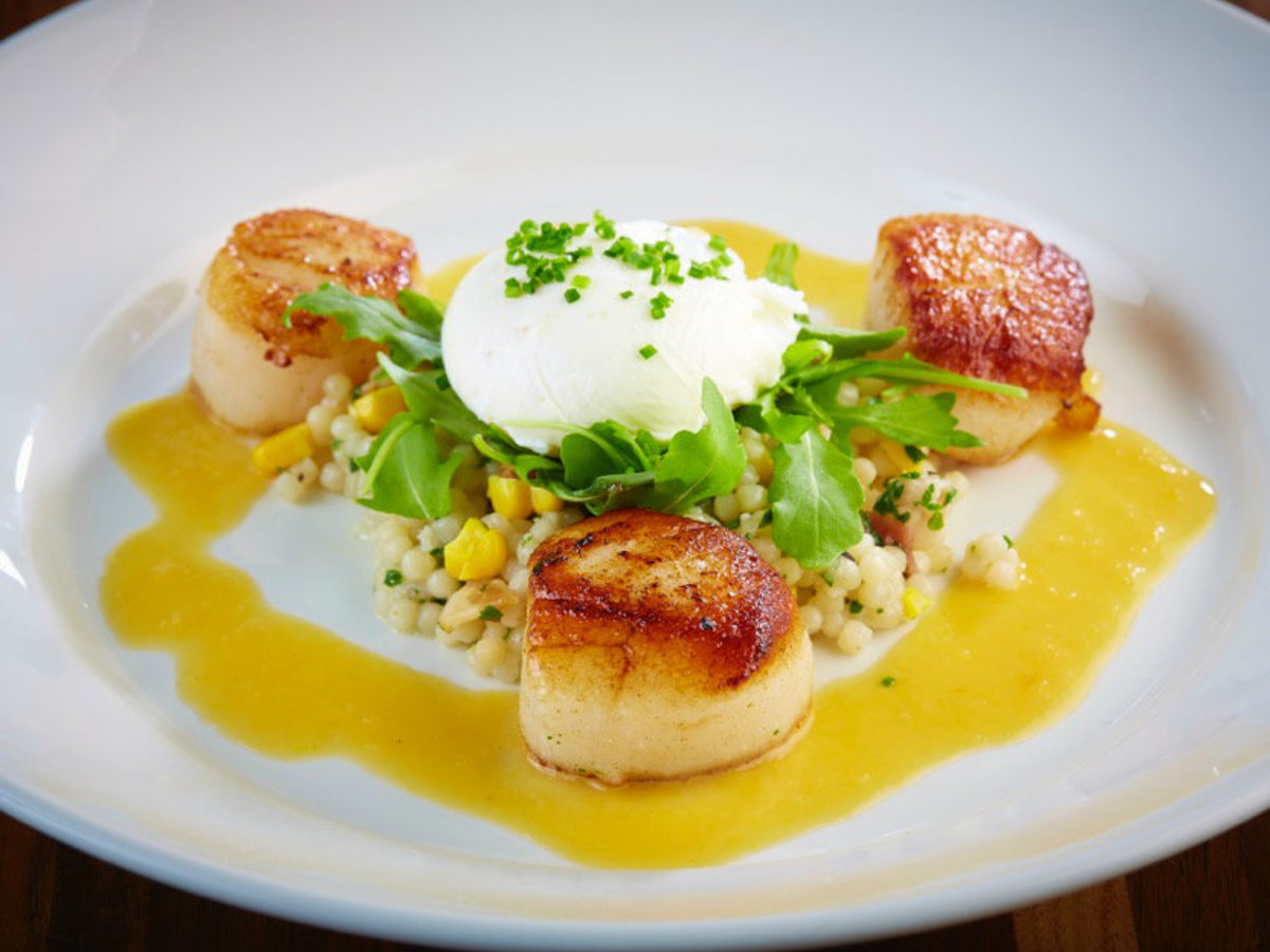 Scallops at Dish Preston Hollow