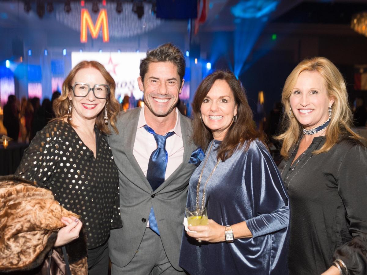 Houston, social book party, January 2018, Rebekah Johnson, Milton Townsend, Angela Poujol, Vanessa Sendukas