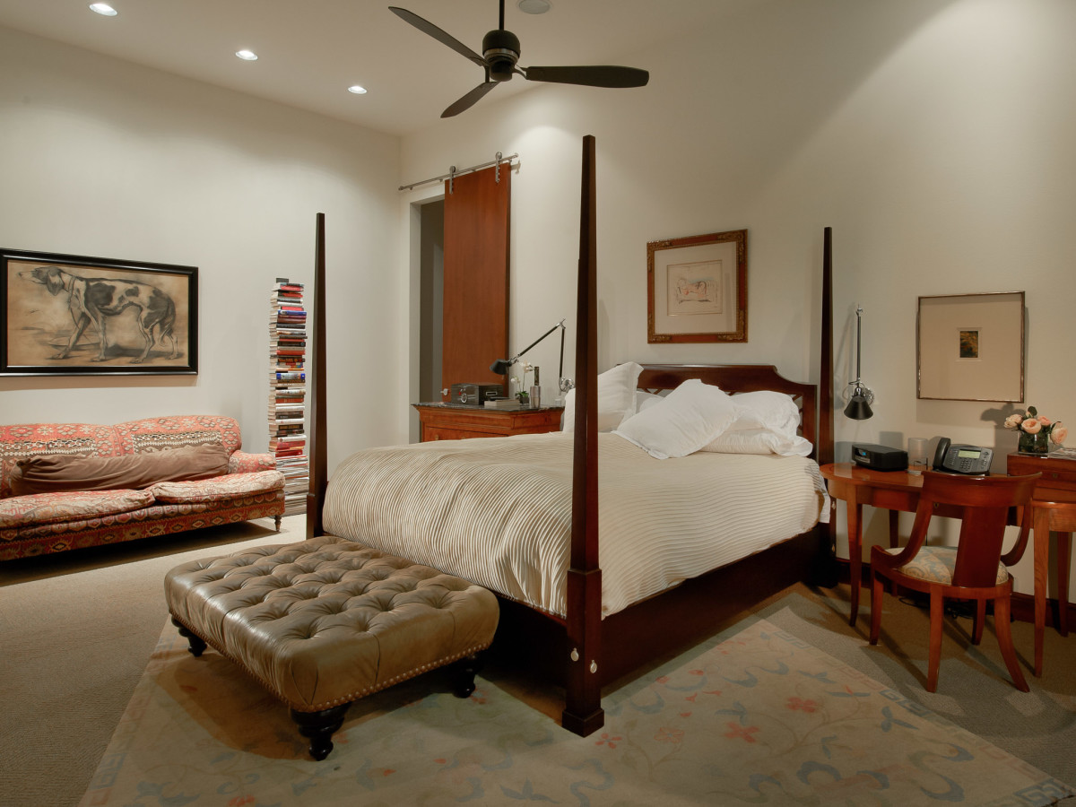 2278 Monitor Street, Dallas Design District warehouse, bedroom