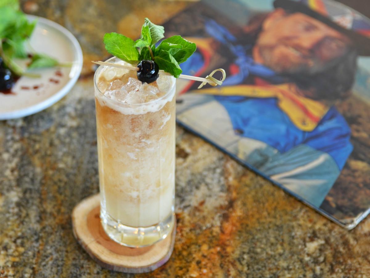 Fairmont Austin Fulton Pancho & Lefty cocktail
