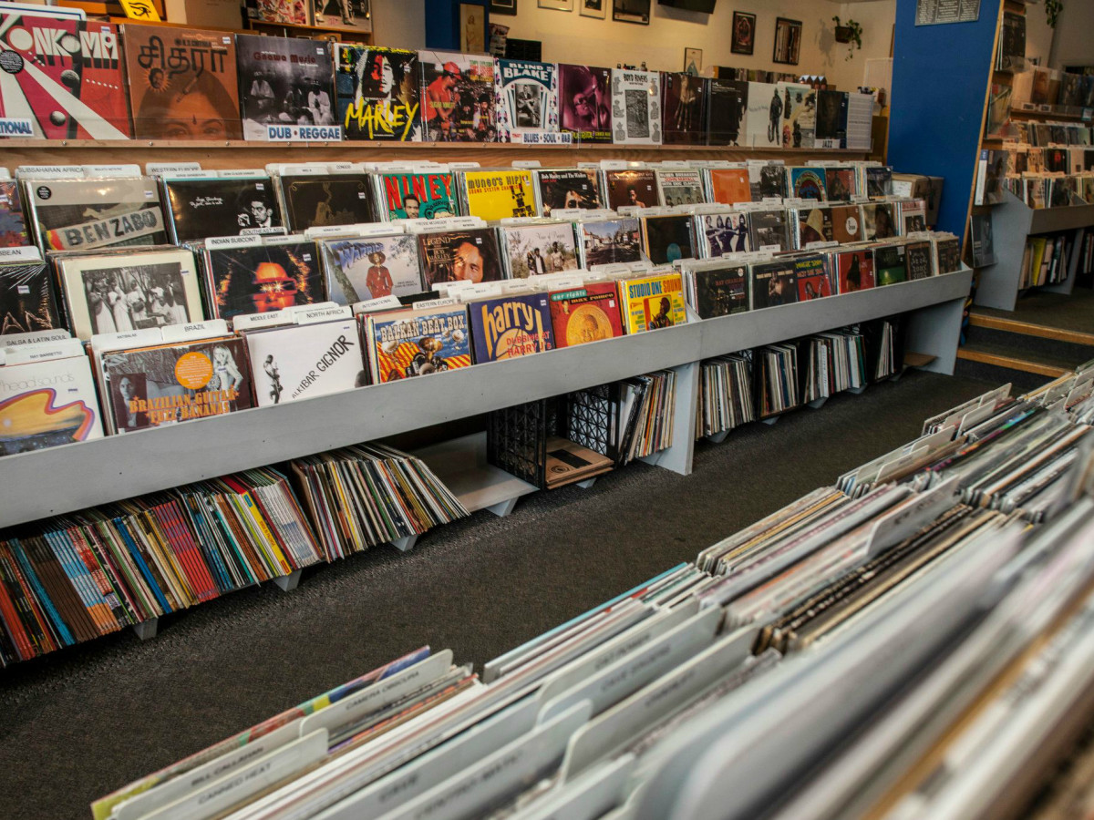 Waterloo Records vinyl music store Austin
