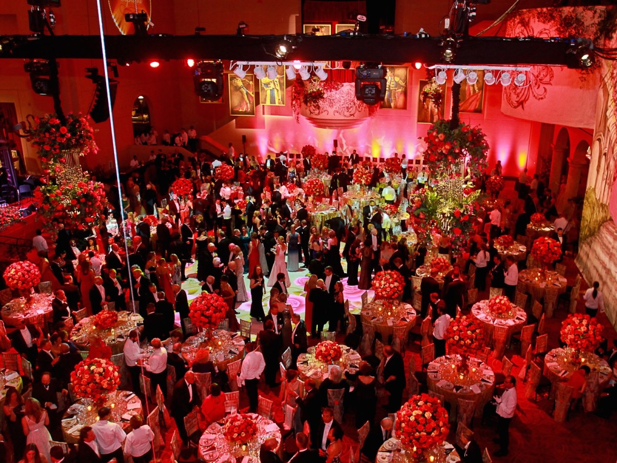285 The crowd and venue Houston Grand Opera Ball April 2015