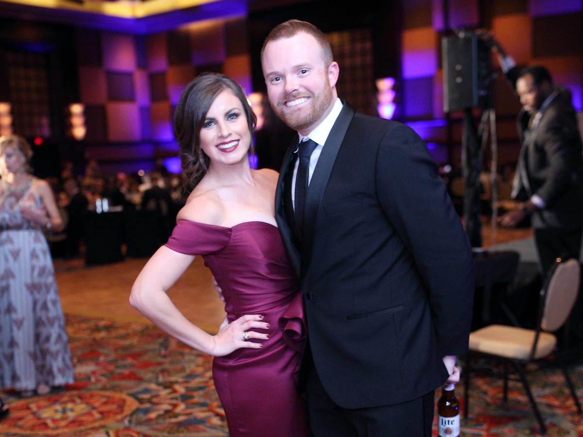 Sarah and Jarrett Hubert Catapult Gala