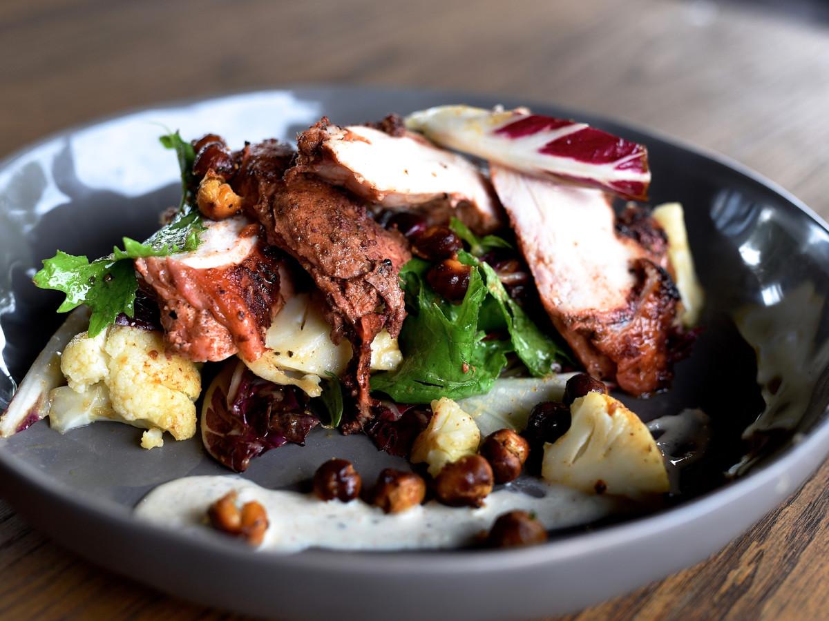 Killen's STQ tandoori chicken salad