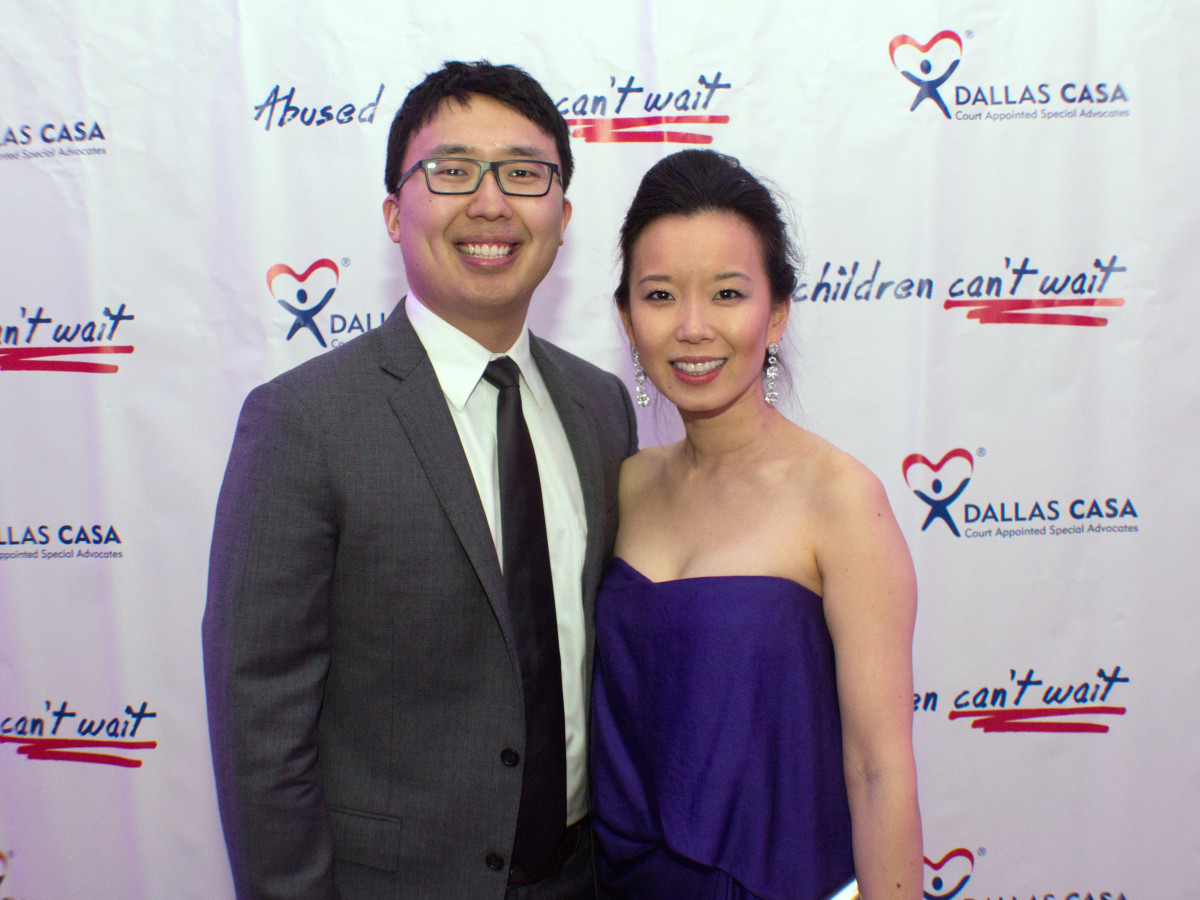 Dallas, CASAblanca gala, January 2018, Chris Kim, Kristy Kim