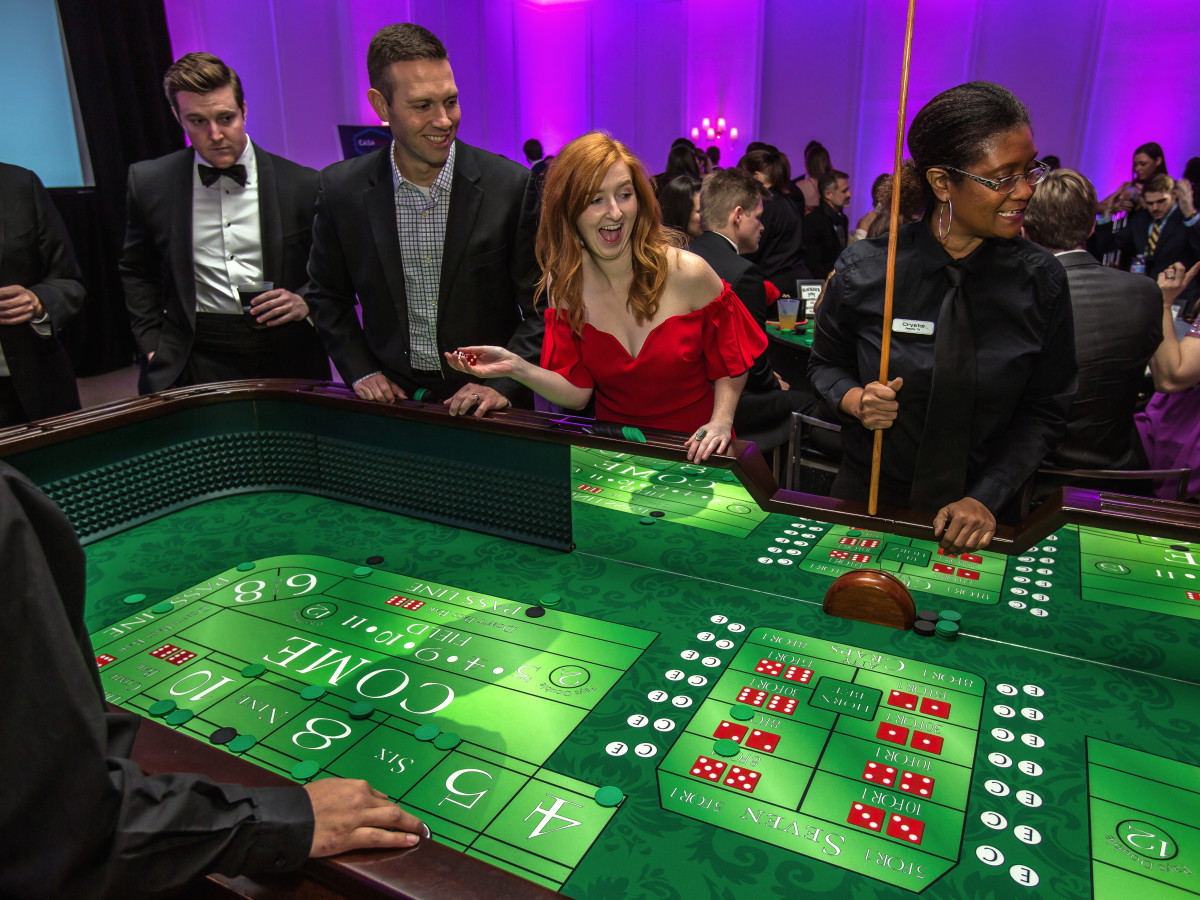 Dallas, CASAblanca gala, January 2018, casino