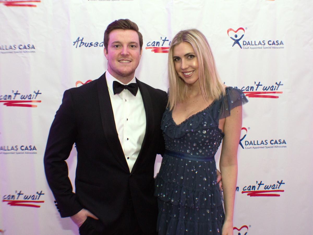 Dallas, CASAblanca gala, January 2018, John Forbes, Ashley Zumwalt
