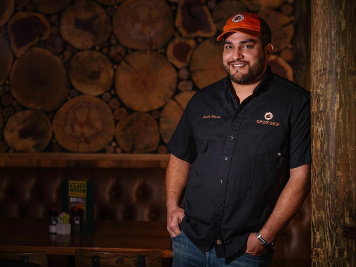 Arash Kharat Beaver's chef