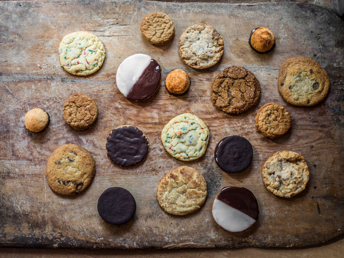 Fluff Bake Bar cookie assortment