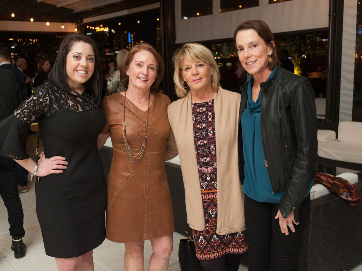 Elizabeth Ferons, Nancy Wechsler, Kim Miner, Rebecca LaFavre, Partners Card 2018
