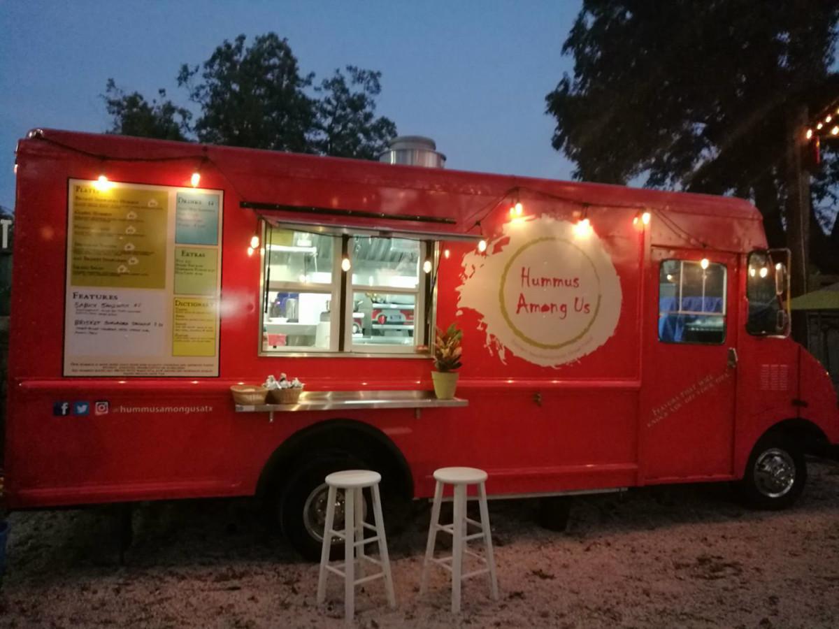 Hummus Among Us Food trailer