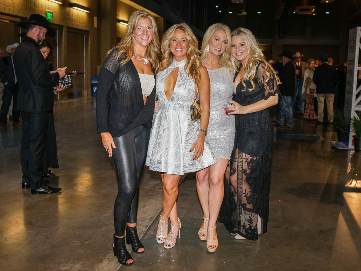 Austin Rodeo Gala 2018 Fashion Amanda Krause Lori Polk Tammy O'Neal Haley Polk