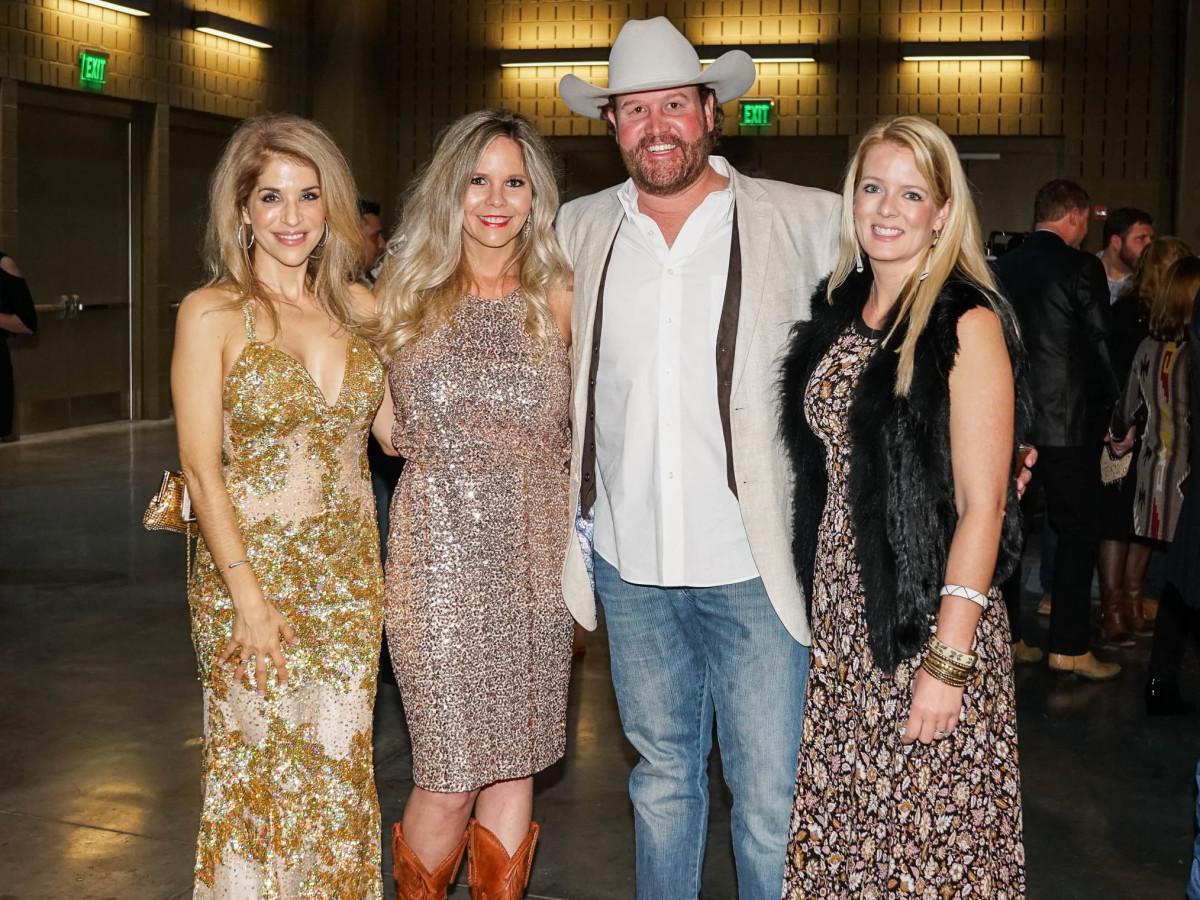 Austin Rodeo Gala 2018 Fashion Melinda Kirchoff Anna Johnston Thomas Johnston Ashley Covert