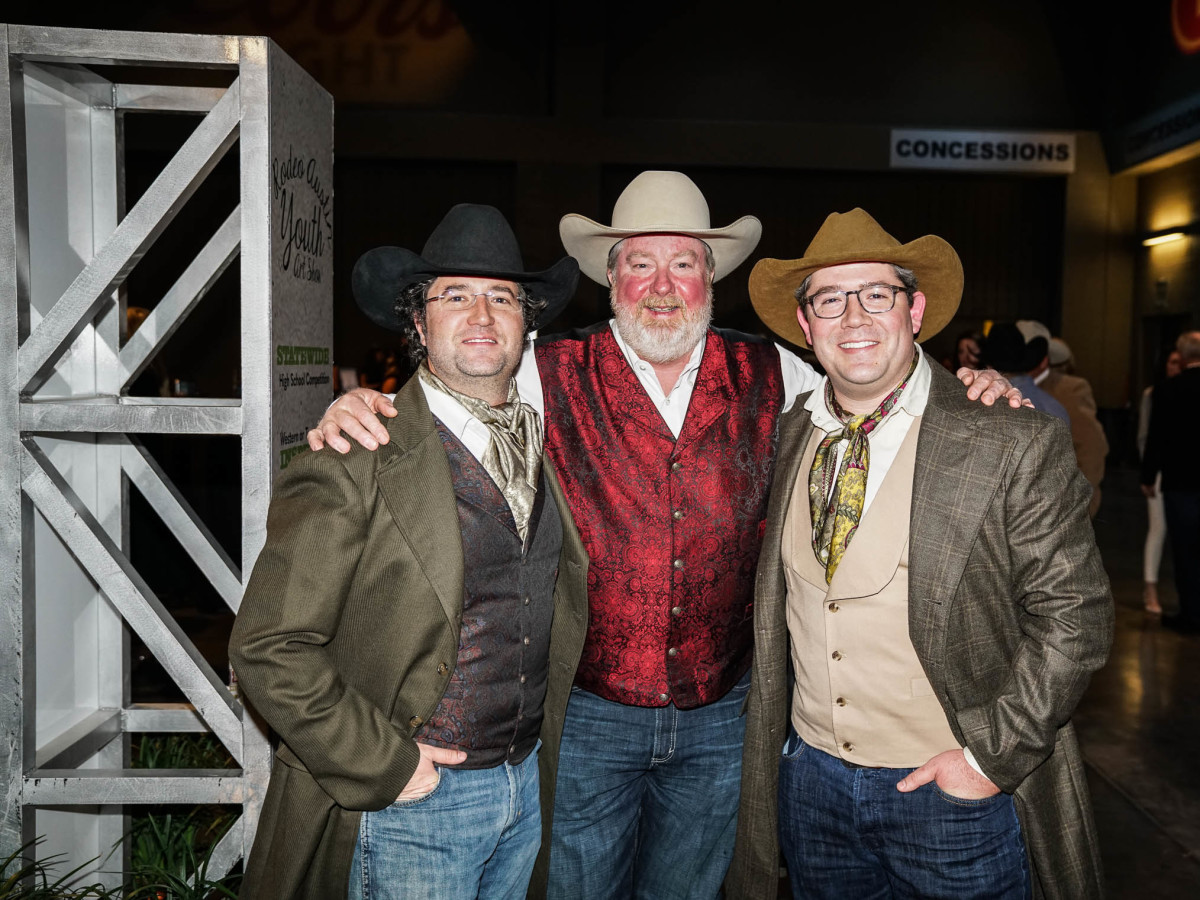 Austin Rodeo Gala 2018 Fashion Grayson Moore Bill Rhyan Dustin Moore
