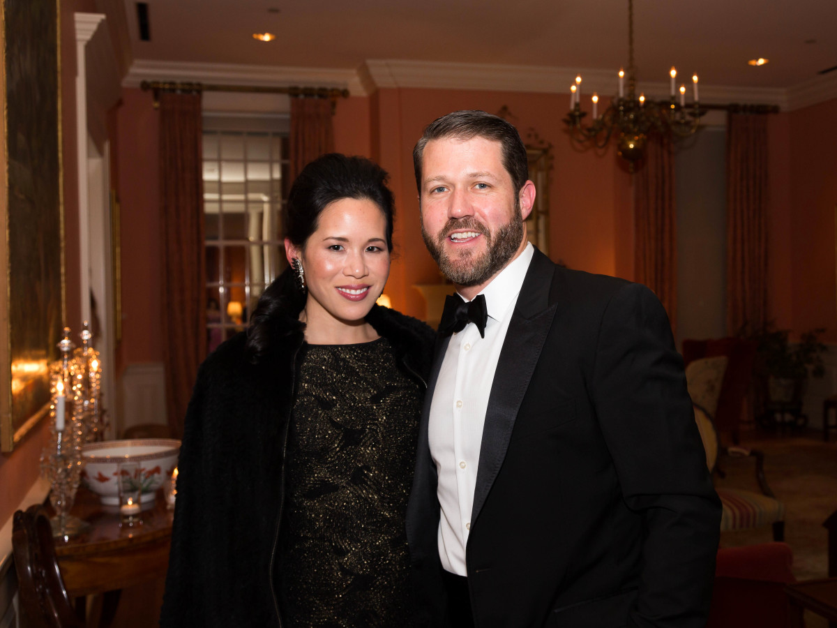 Houston, JLH Charity Ball, February 2018, Stephanie Fleck, Ryan Fleck