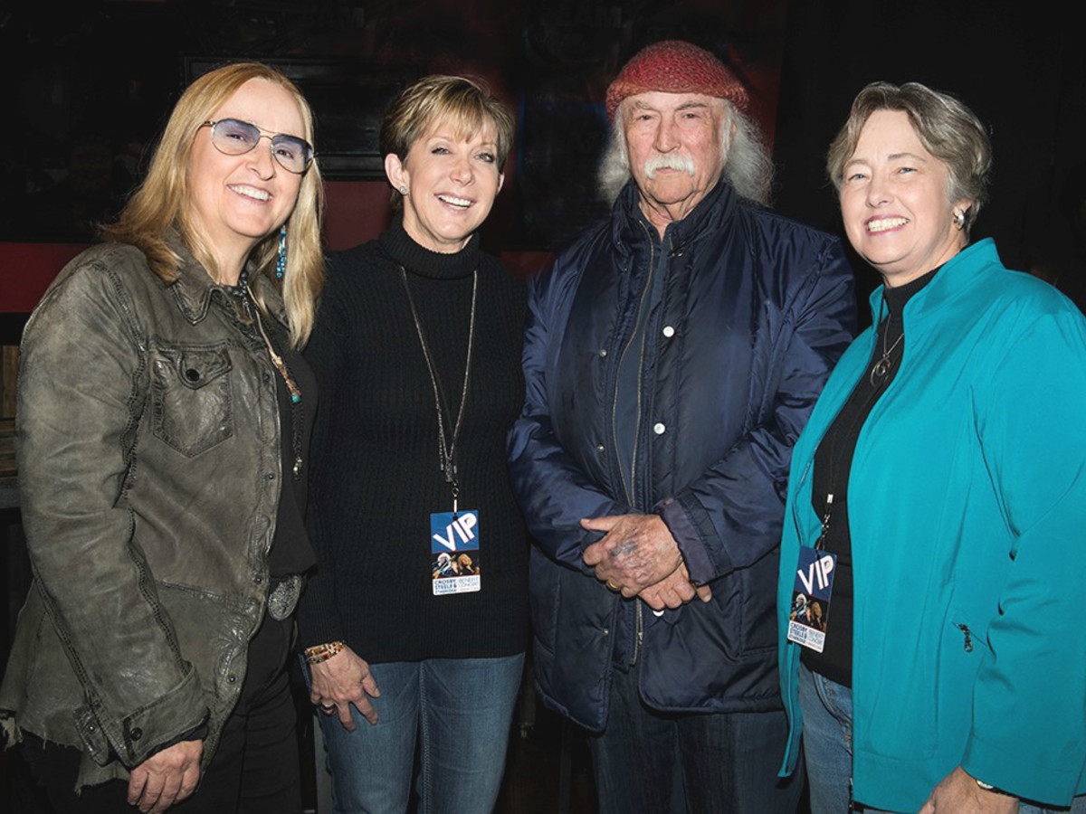 Party Watch David Crosby Melissa Etheridge Dayna Steele