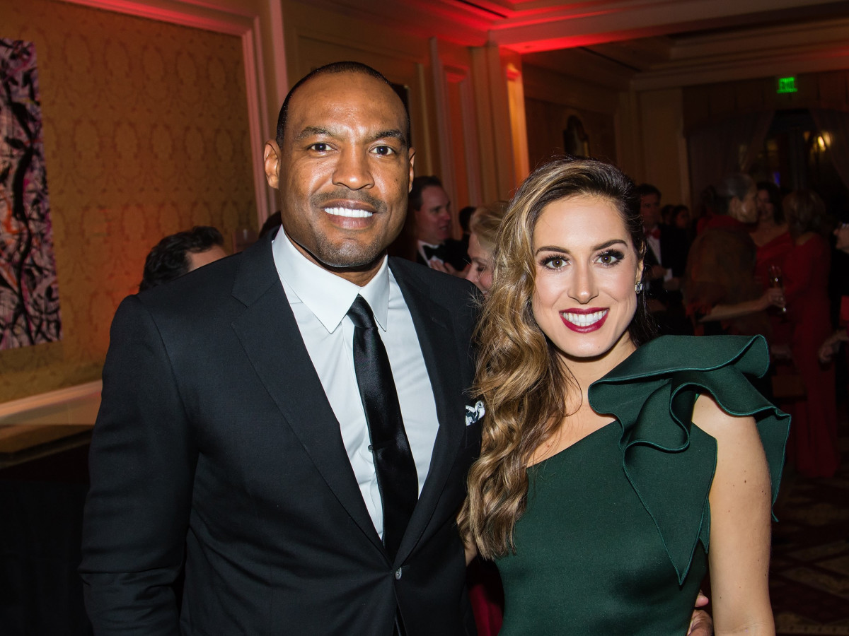 Darren Woodson, Tiffany Woodson, Unicef Gala 2018