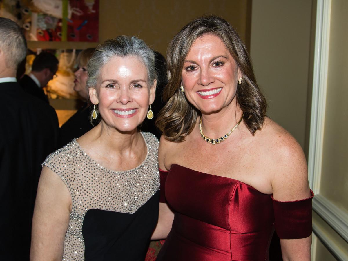 Kim Mason, Shannon Nadalini, Unicef gala 2018