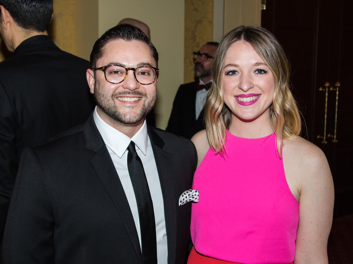 Kyle Ross, Jenna Dillenback, Unicef gala 2018