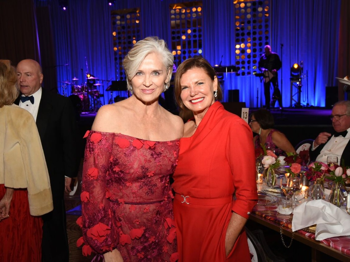 Houston, Heart Ball, February 2018, Karen Henry, Anita O'Shaughnessy