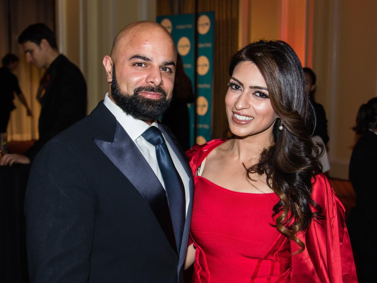 Zeshan Tabani, Farah Tabani, Unicef gala 2018