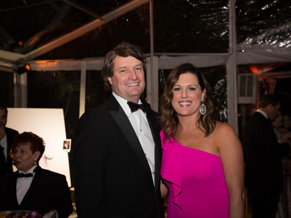 Houston, JLH Charity Ball, February 2018, Barry Gross, Sydney Gross