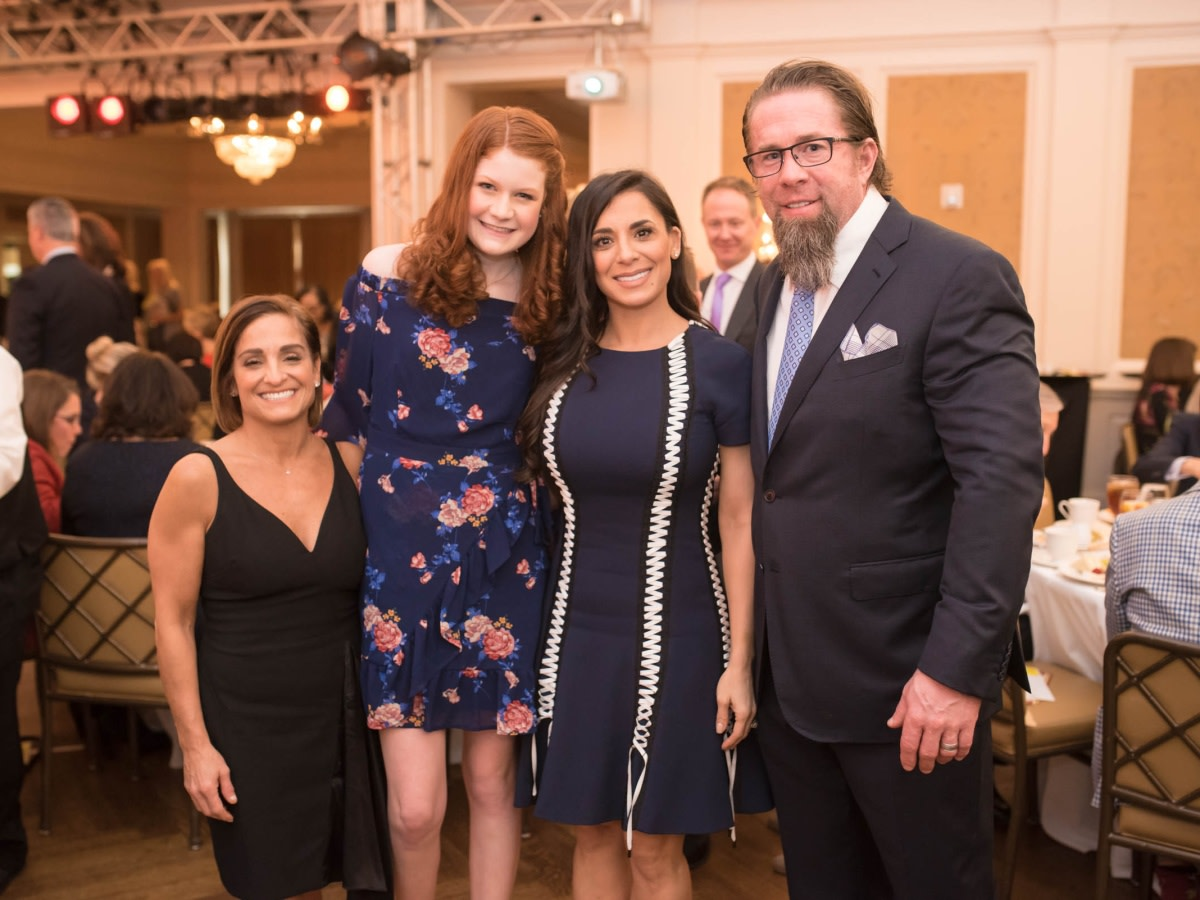 Houston, TCH Celebration of Champions, February 2018, Mary Lou Retton, Peyton Richardson, Rachel Bagwell, Jeff Bagwell