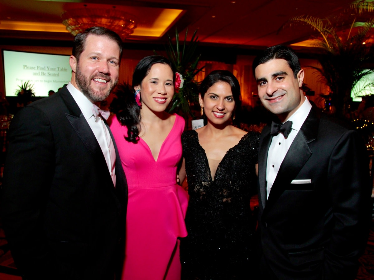 Houston, West University Park Lovers' Ball, February 2018, Ryan Fleck, Stephanie Fleck, Lilian Irani, Cyrus Irani