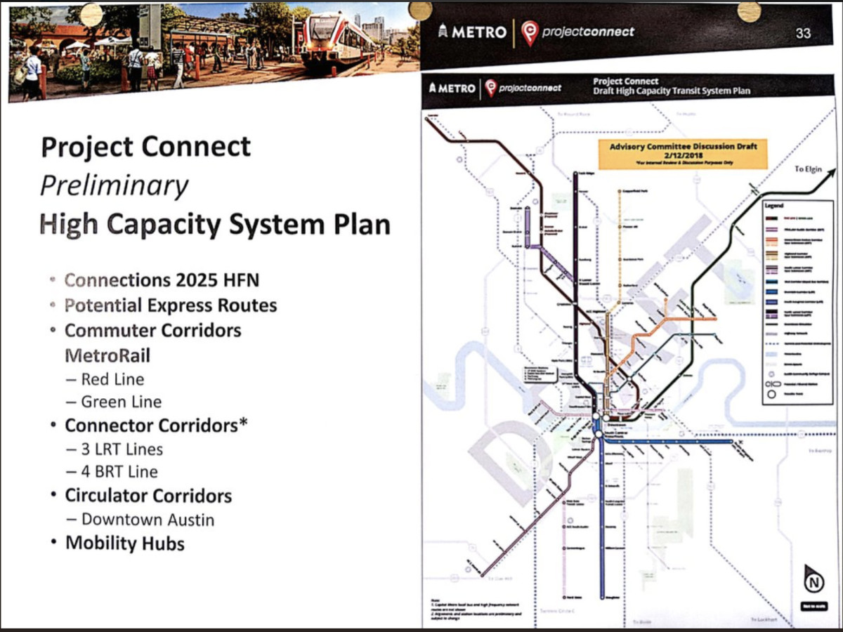 CapMetro leaked light rail documents