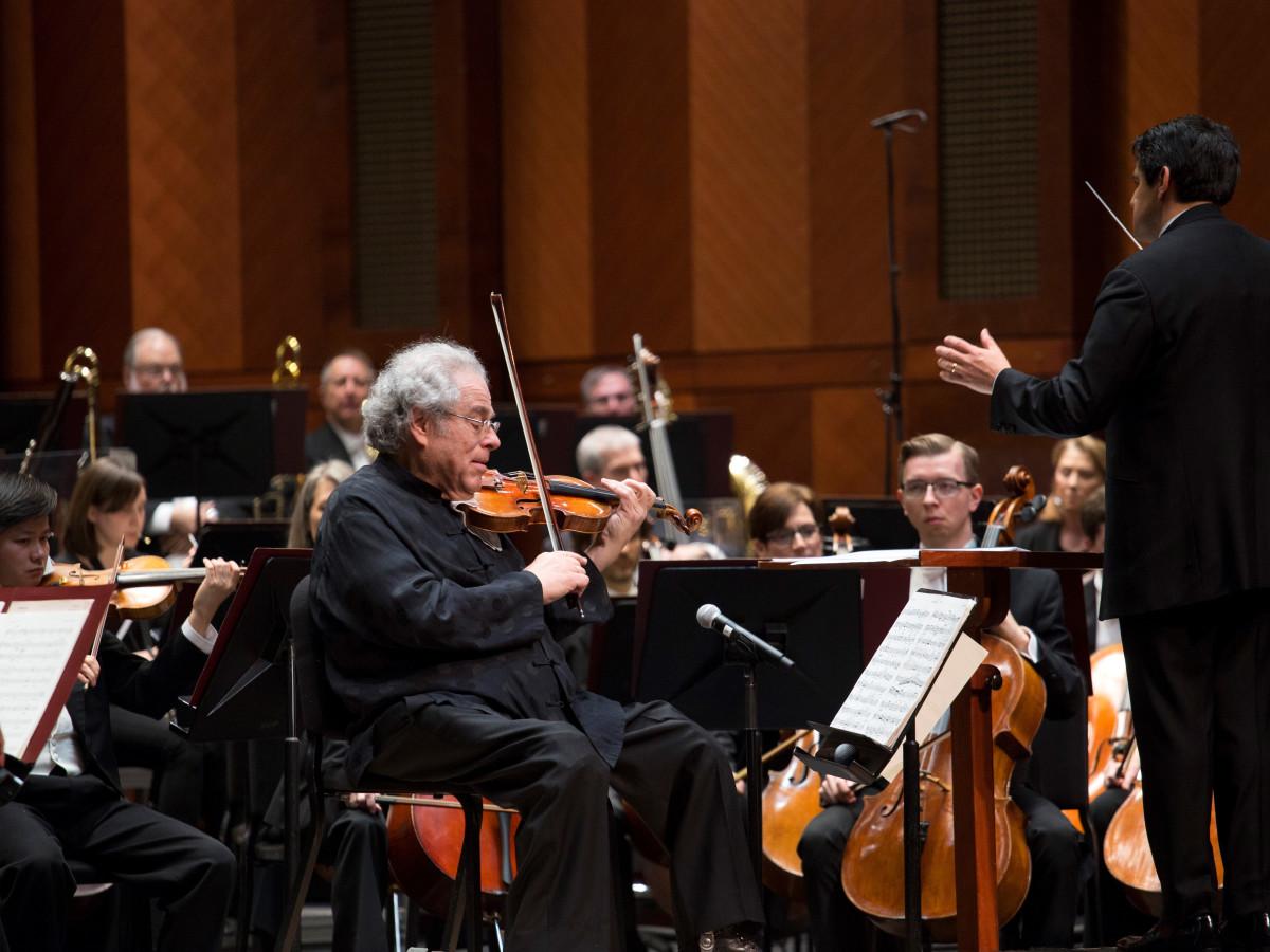 Itzhak Perlman, FWSO Gala