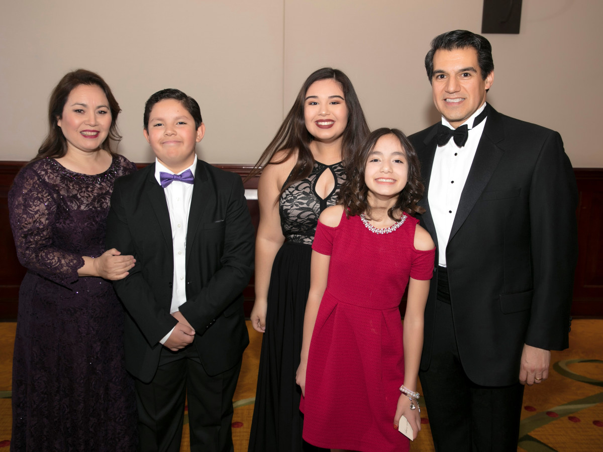 Miguel Harth-Bedoya family, FWSO Gala 2018