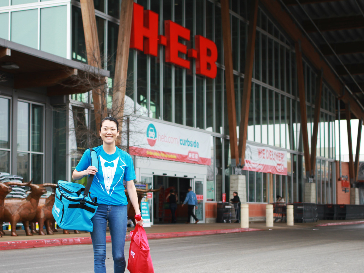 HEB H-E-B Favor partnership