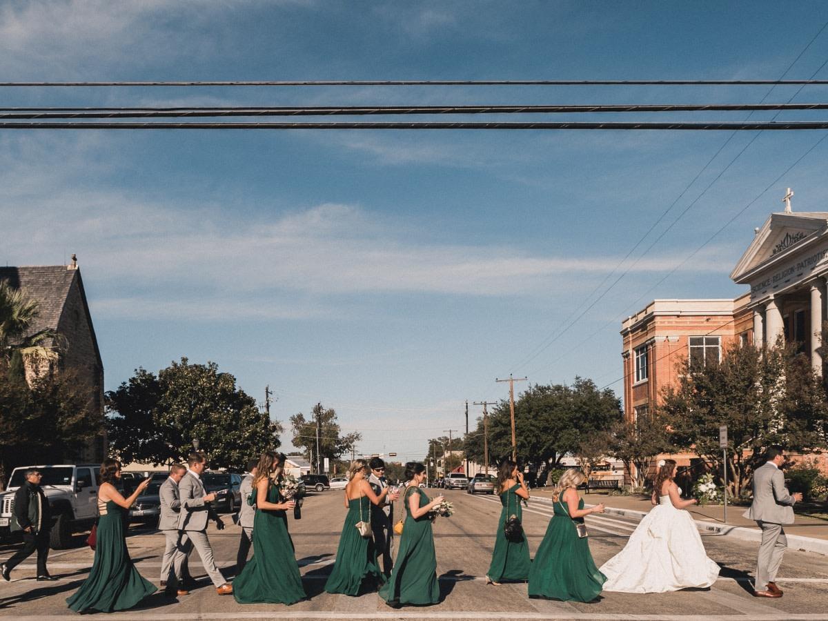 Austin, Rockwood Evans wedding, February 2018