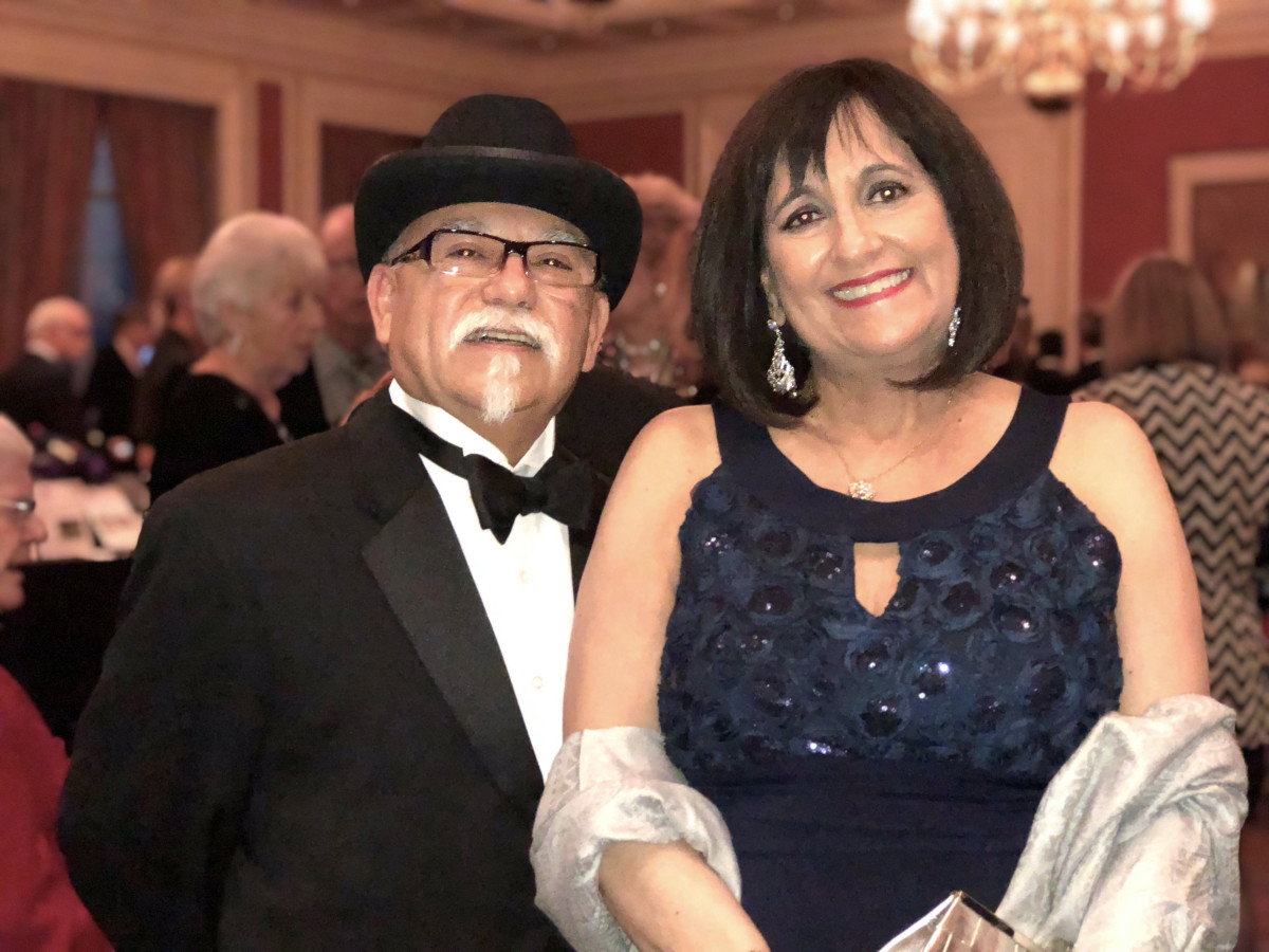 Bob Bonilla, Eva Bonilla, Stage West Acting with the Stars 2018