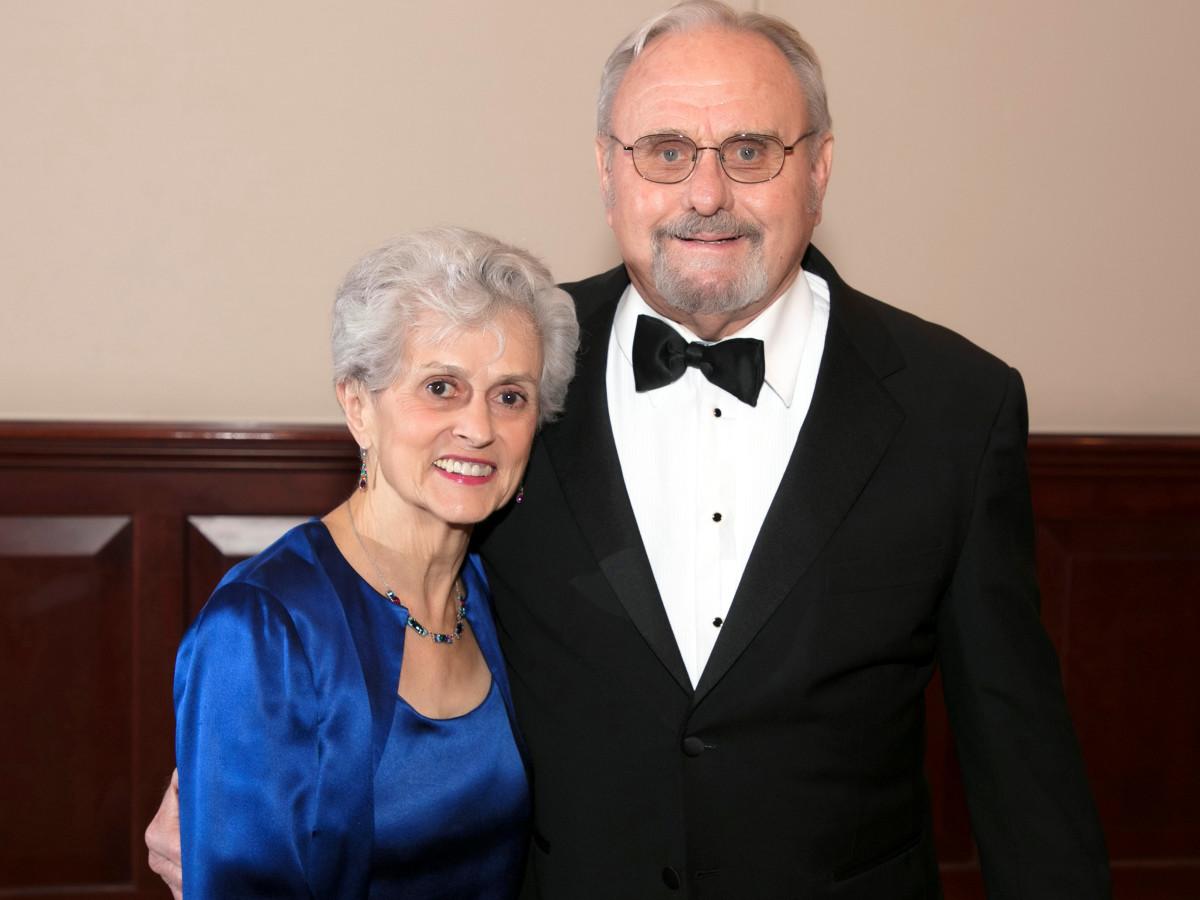 Juana Rosa, Ron Daniel, FW Symphony gala 2018