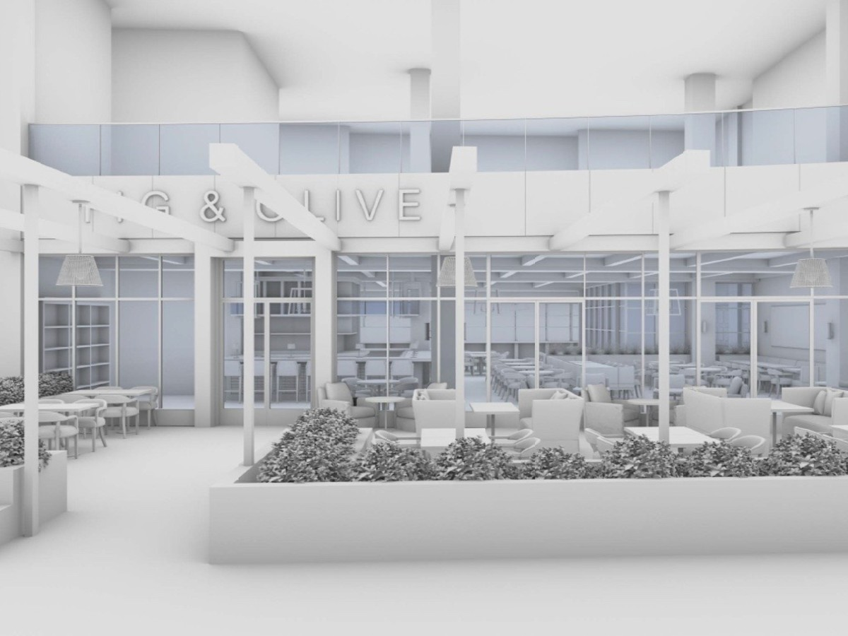 Fig & Olive Galleria rendering