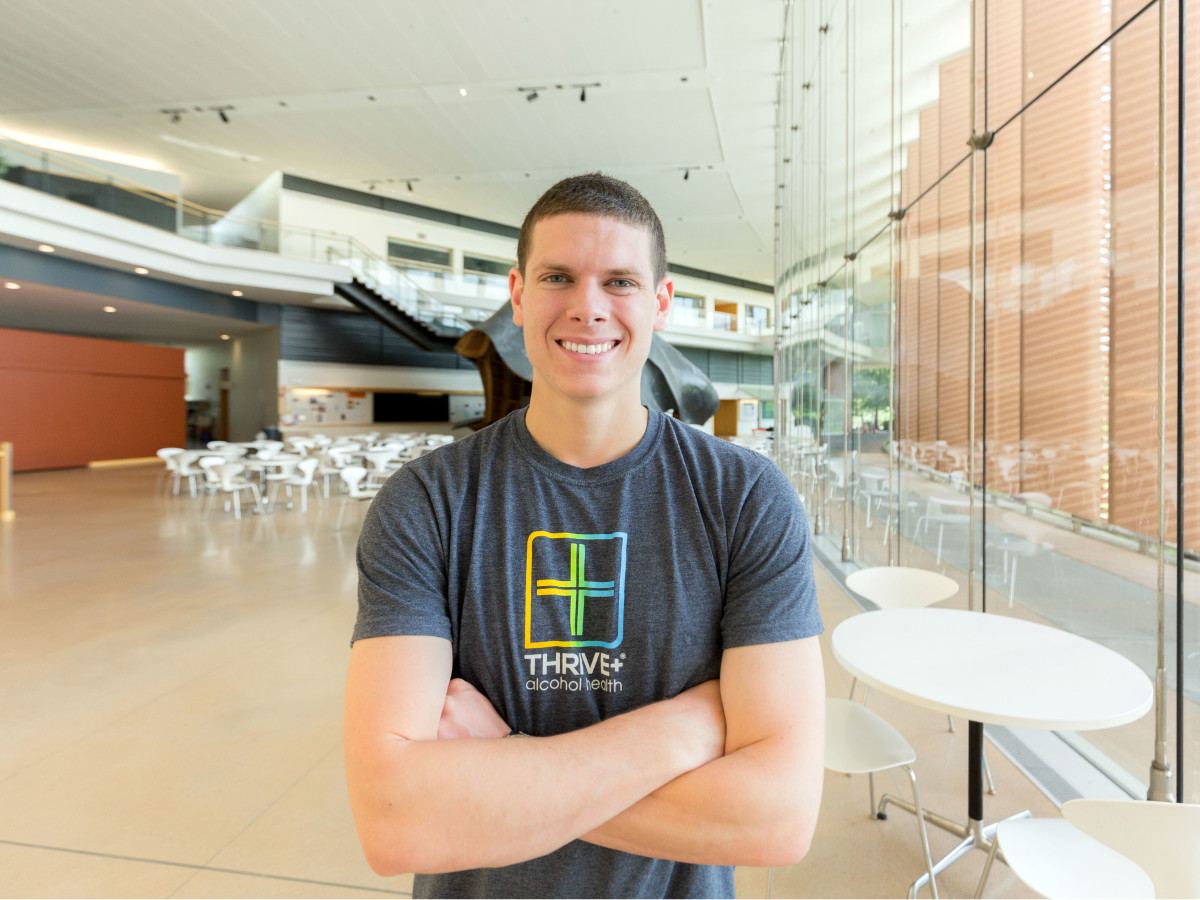 Brooks Powell founder Thrive+ hangover cure Houston
