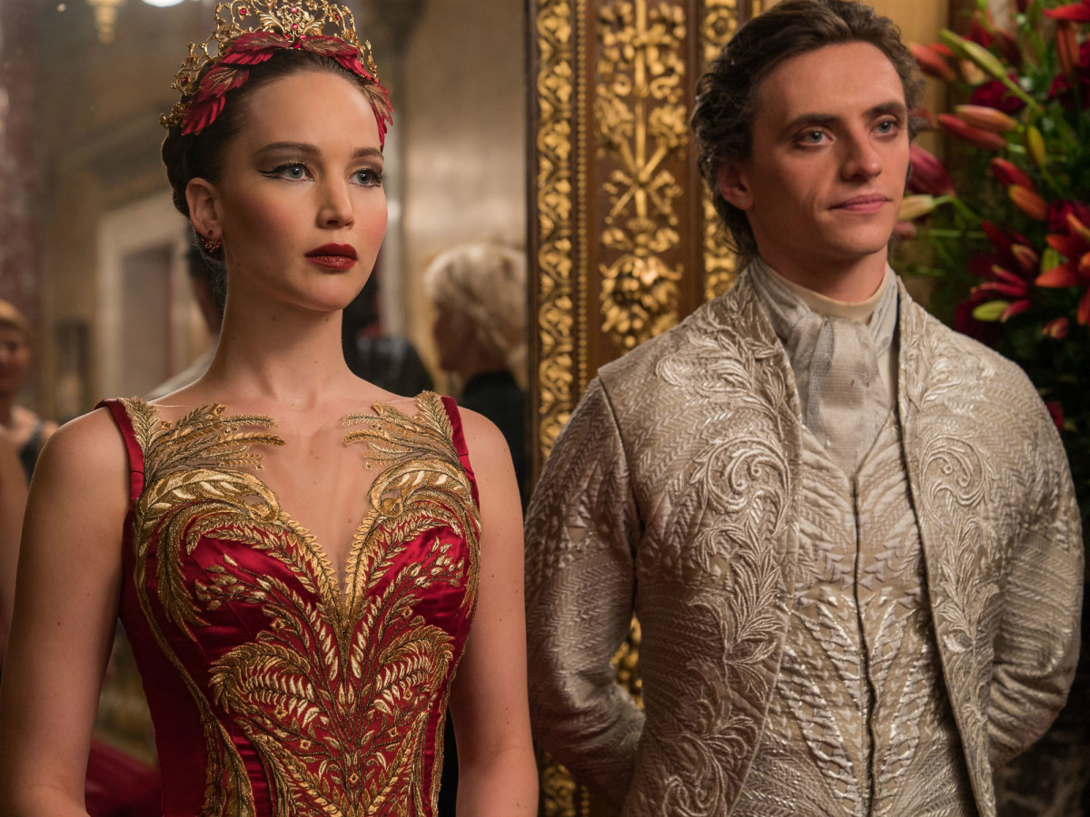Jennifer Lawrence and Sergei Polunin in Red Sparrow