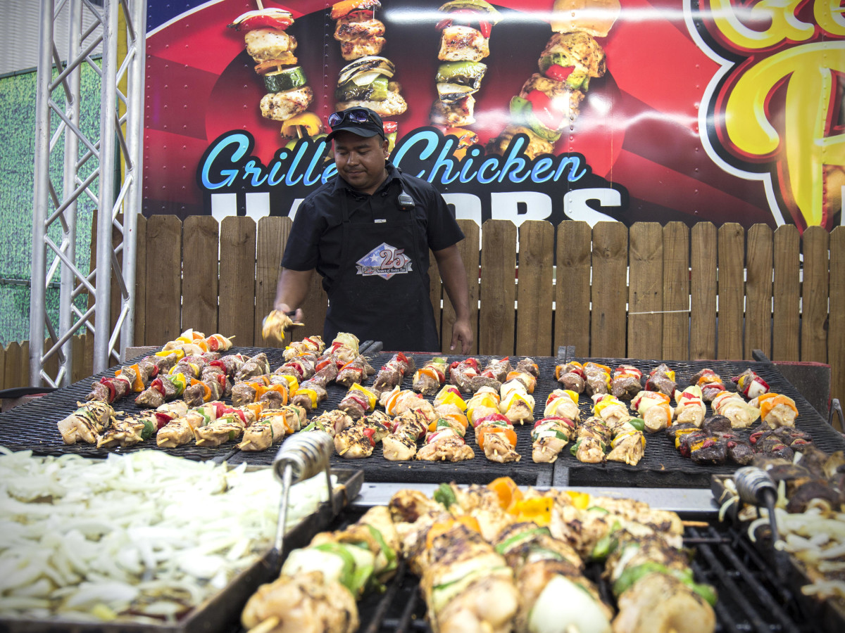 Rodeo Carnival kabob grill