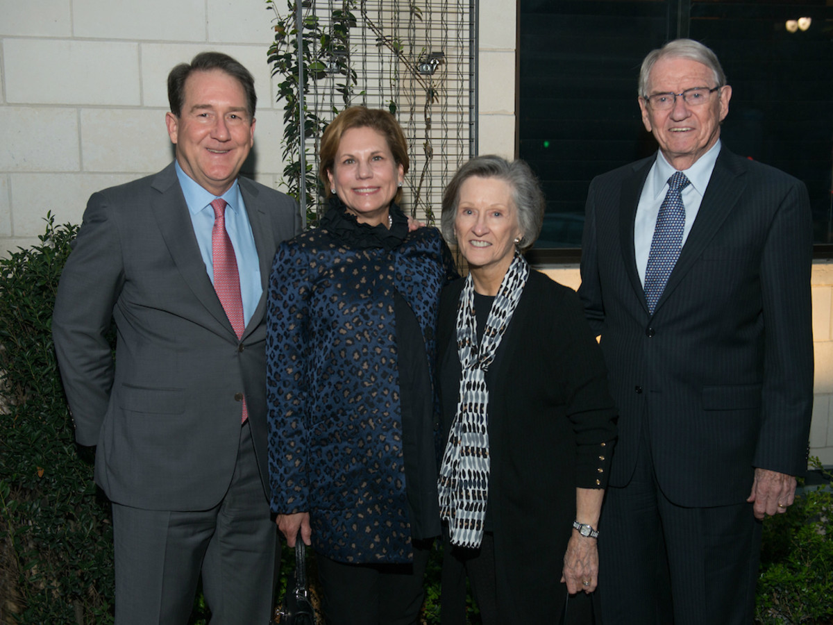 Nancy and Bryan Ruez with Harriet and Joe Foster