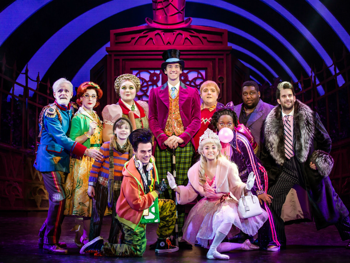 Original Broadway cast of Charlie and the Chocolate Factory