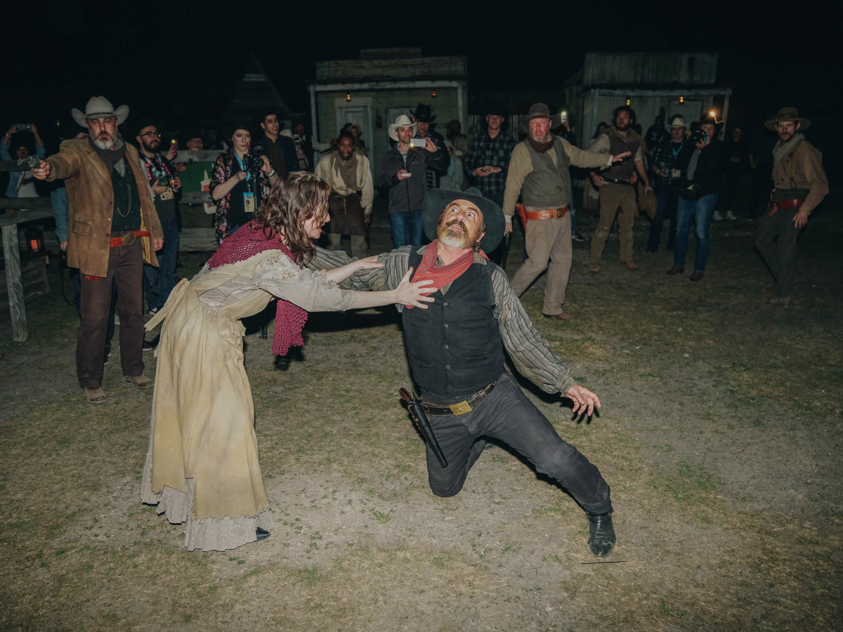 SXSW Westworld Experience Gun Fight