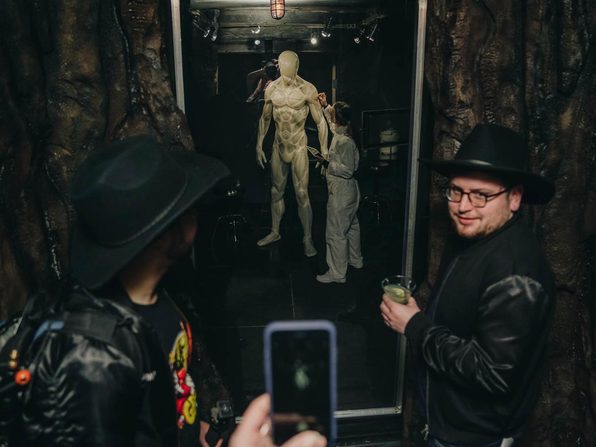 SXSW Westworld Experience Host Making