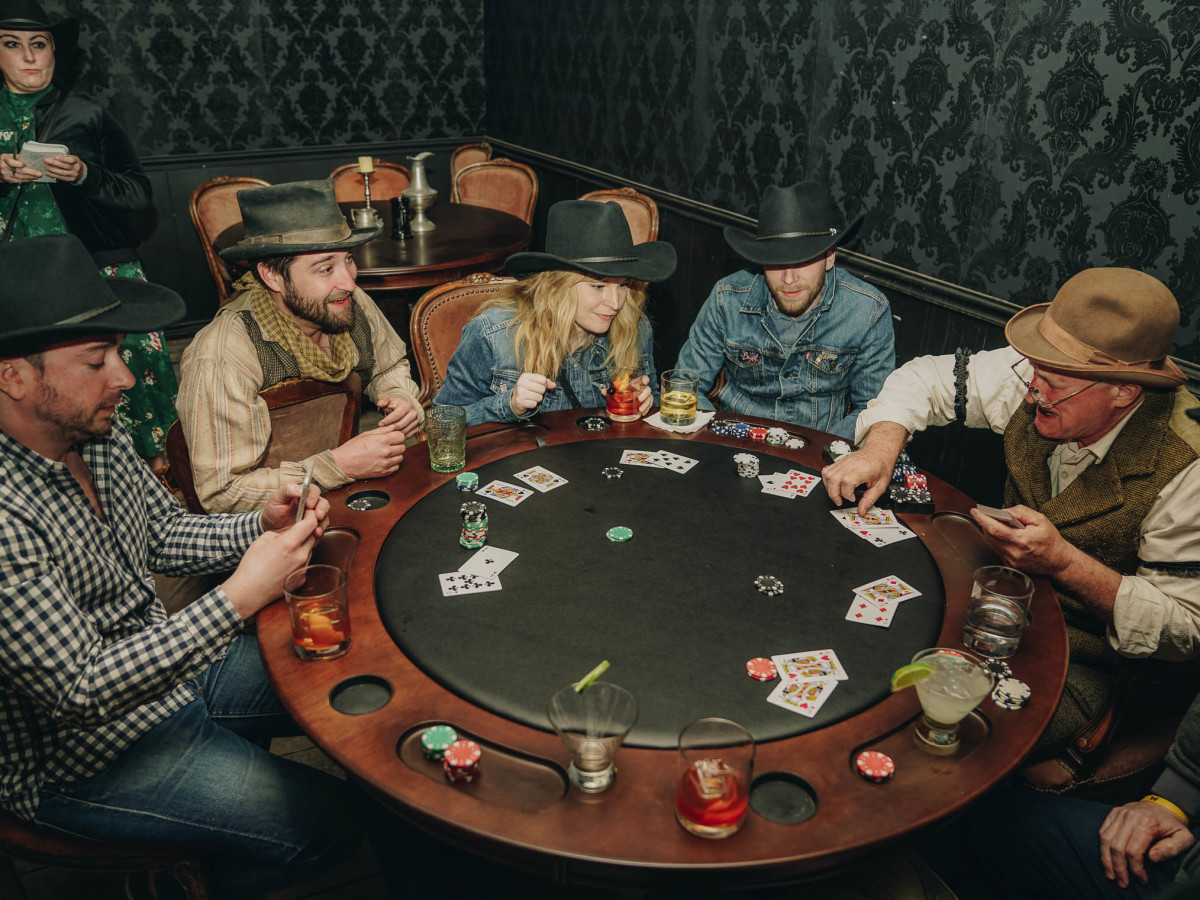 SXSW Westworld Experience Blackjack Game